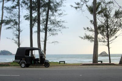 Тук-тук на Шри-Ланке